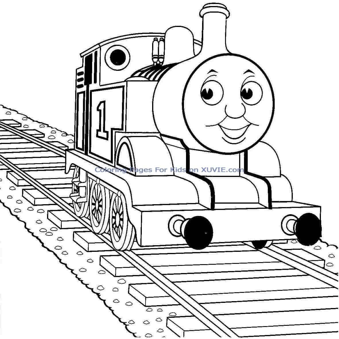 Thomas Coloring Pages For Kids
