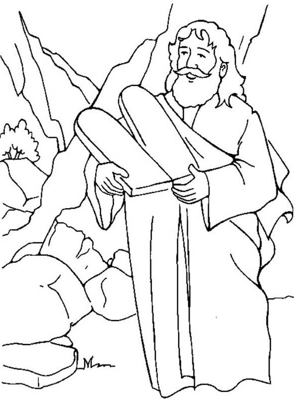 Free Ten Commandments Coloring Pages, Download Free Clip