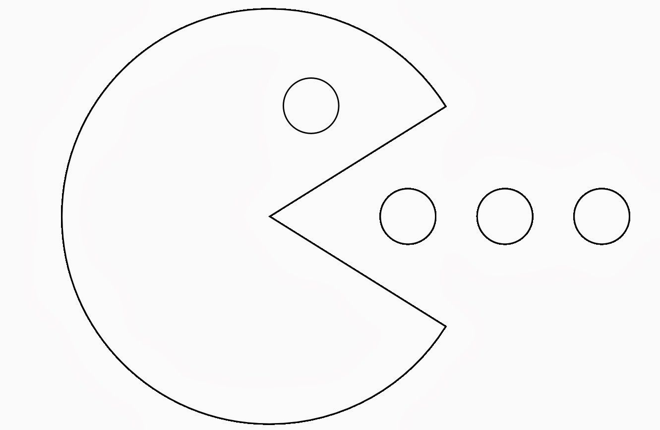 Free Pacman Coloring Pages To Print Download Free Clip