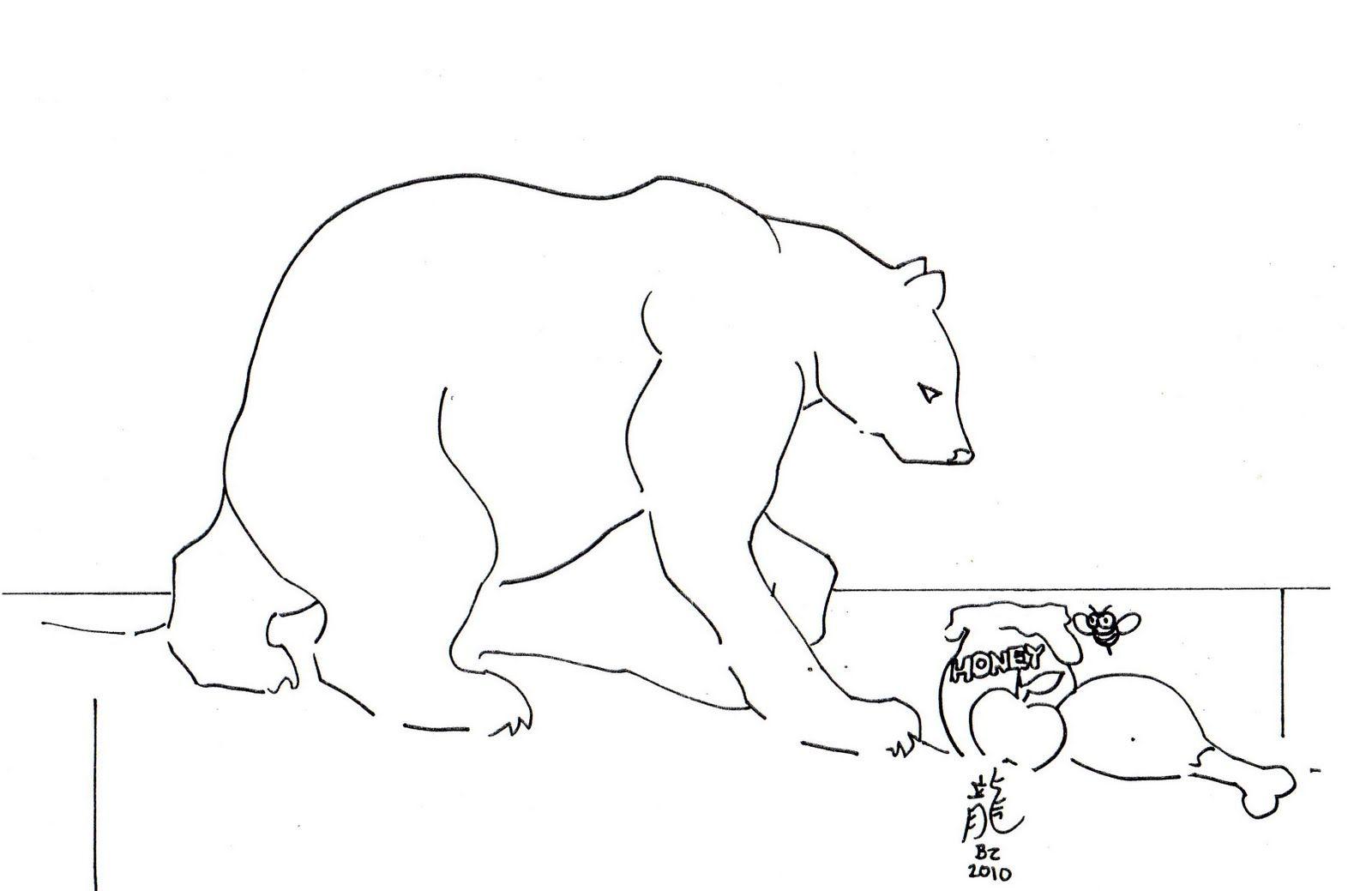 Arctic Animals Coloring