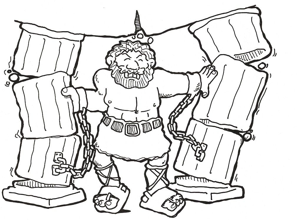 Free Coloring Pages Of Samson, Download Free Clip Art