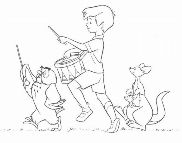 robin coloring page # 37