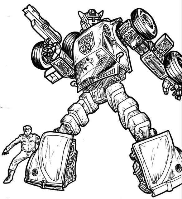 Transformers G1 Coloring Pages Clip Art Library