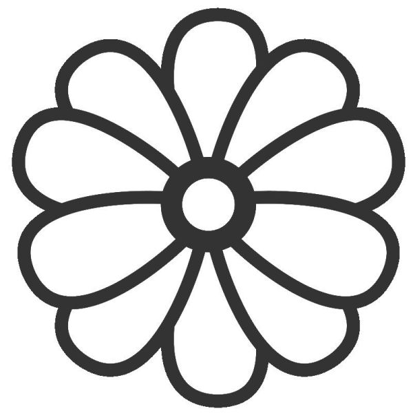 printable coloring pages of flowers # 29
