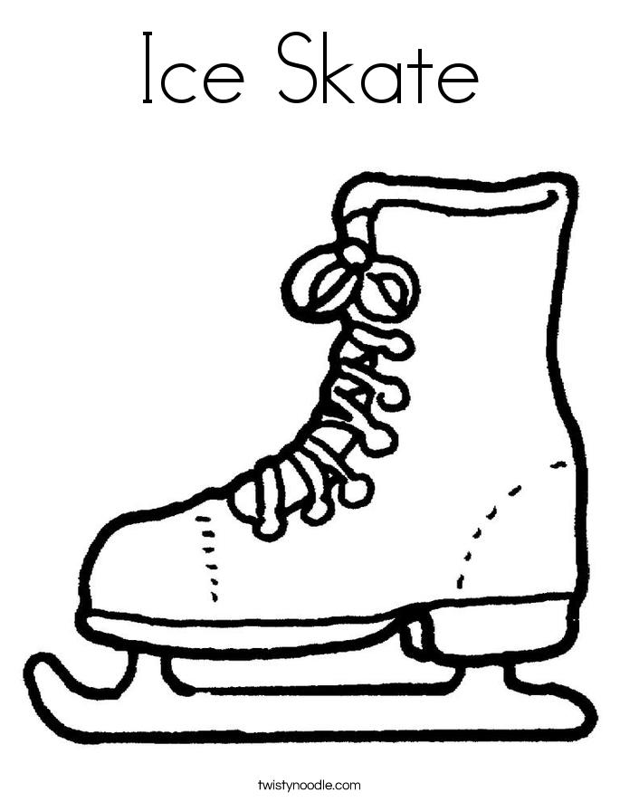 How To Draw Ice Skates : skates, Drawing, Skates, Library