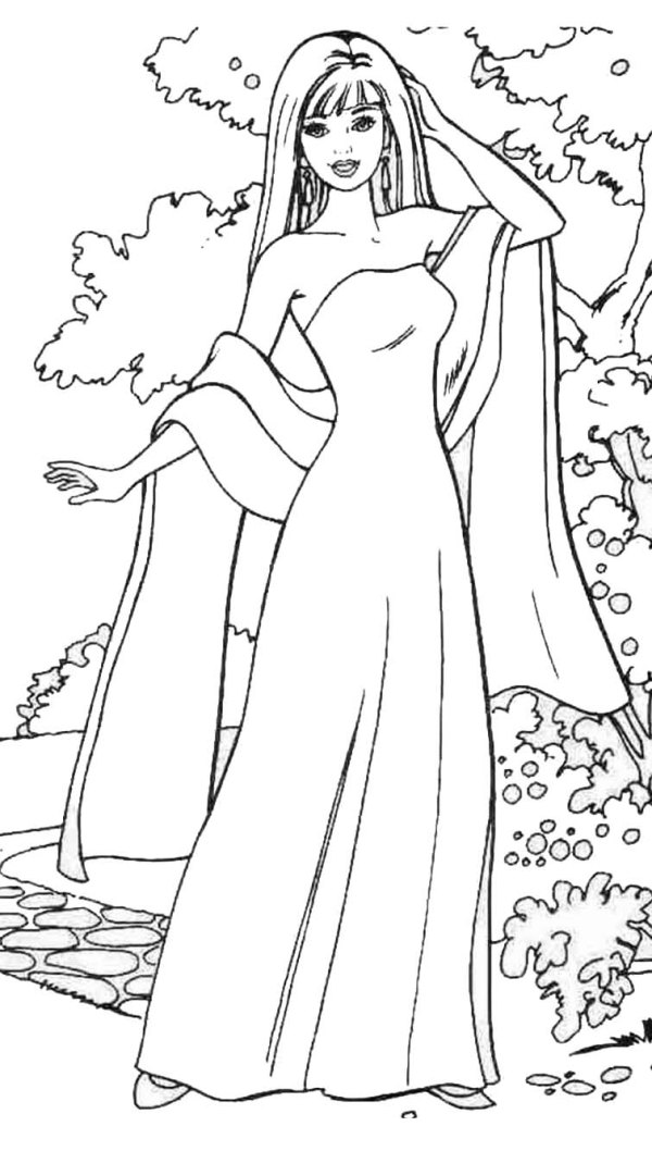 coloring pages fashion # 56