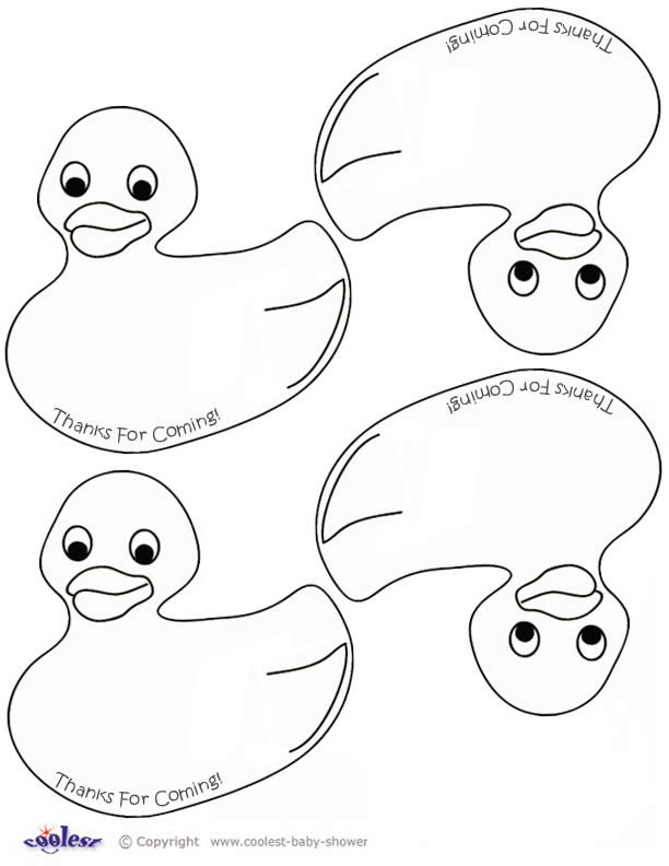 Free Duck Template, Download Free Clip Art, Free Clip Art