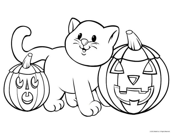 free halloween printable coloring pages # 18