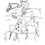 Jumping Horse Coloring Pages Clip Art Library