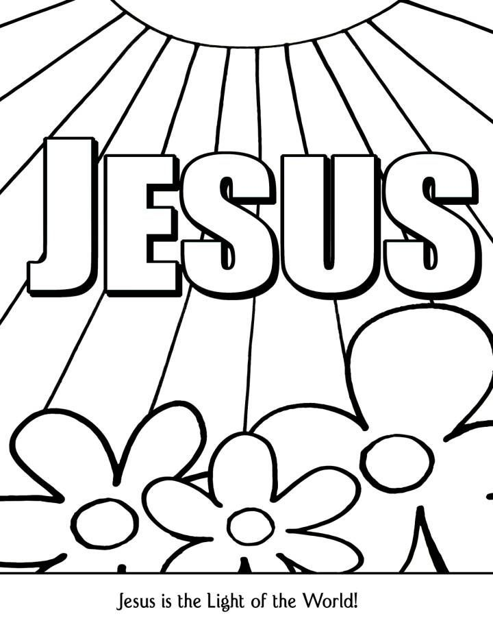 Free Ministry To Children Coloring Pages, Download Free