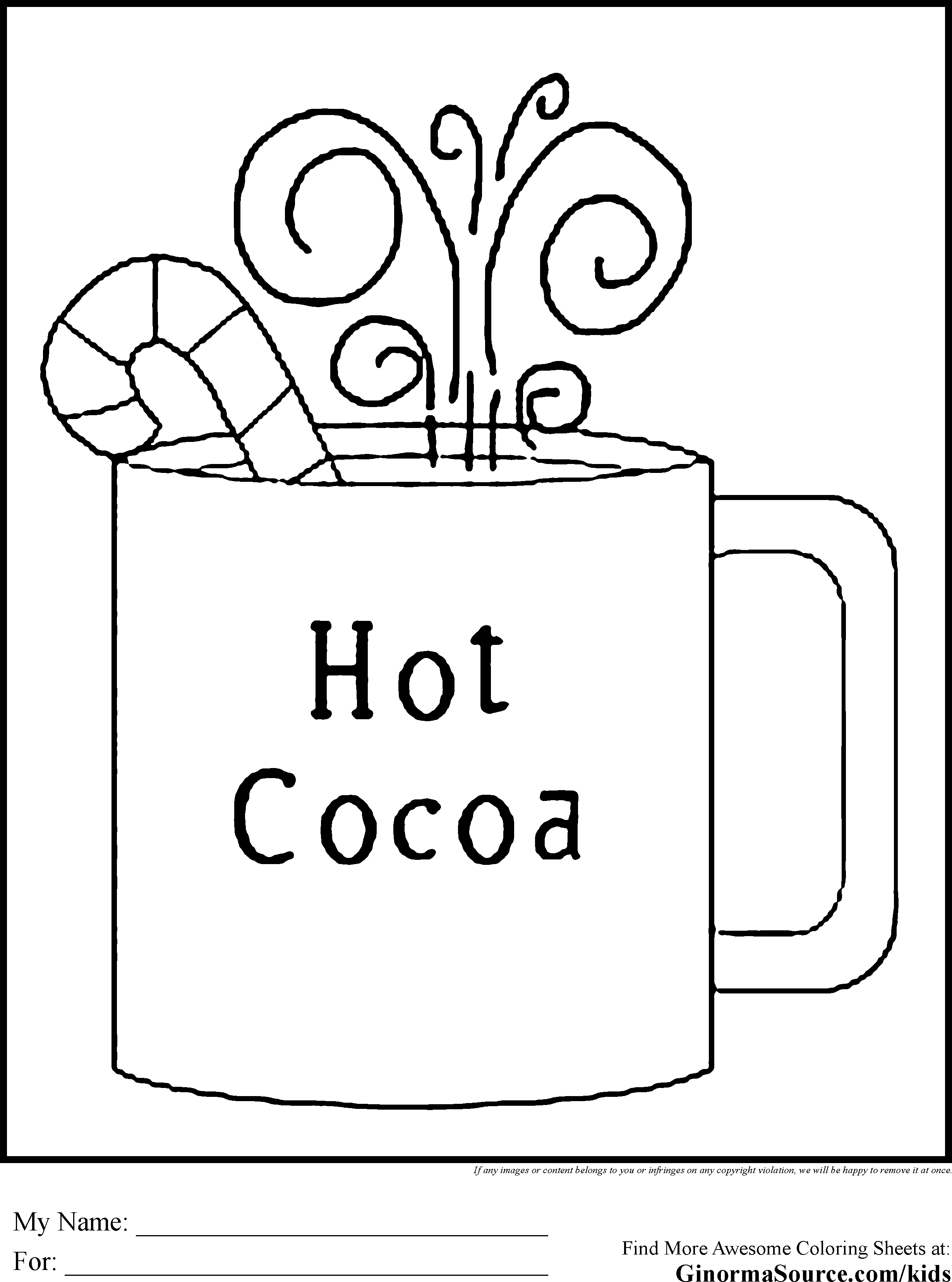 Free Winter Coloring Pages For Kindergarten Download Free