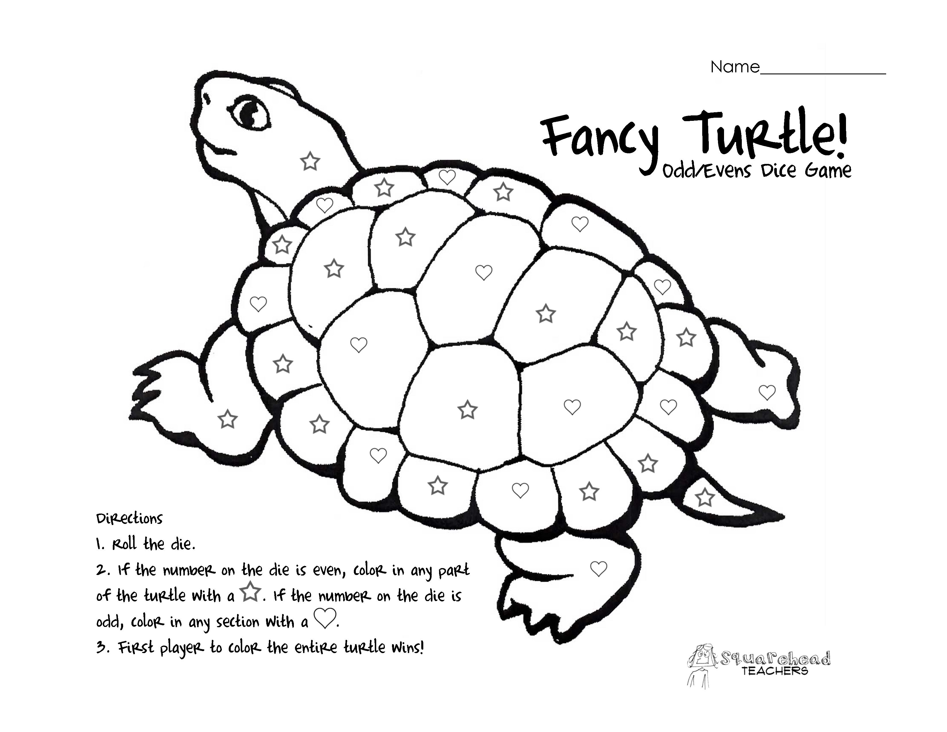 Free Turtle Math Coloring Pages Download Free Clip Art