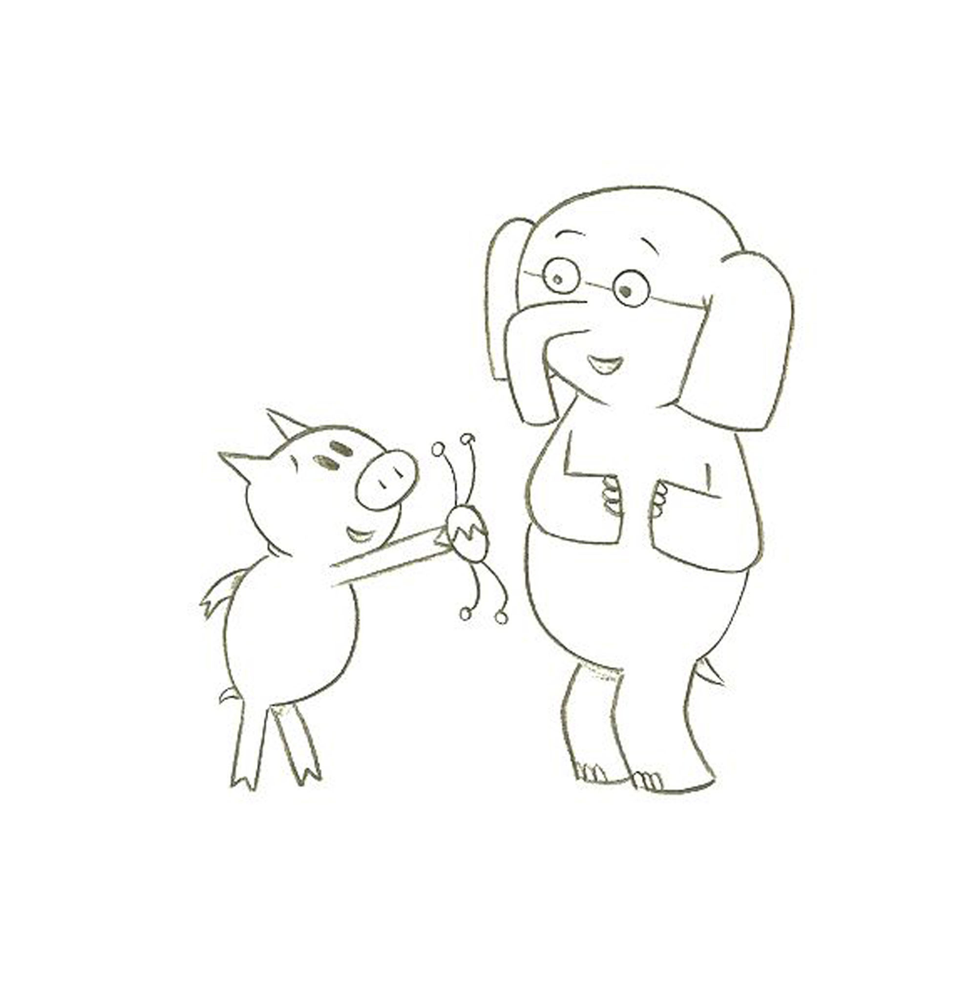 Free Mo Willems Coloring Pages Free Download Free Clip