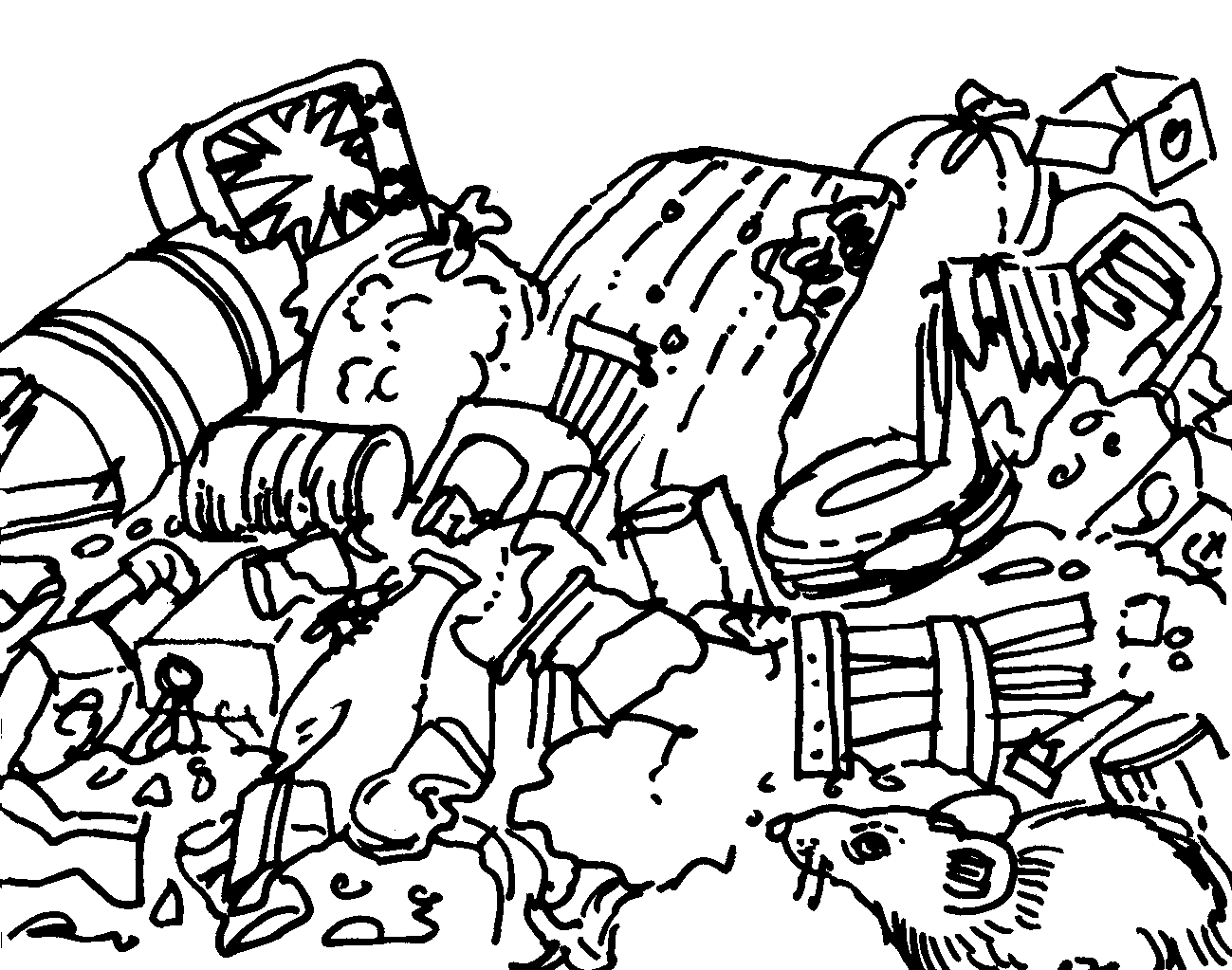 Free Land Pollution Coloring Pages Download Free Clip Art
