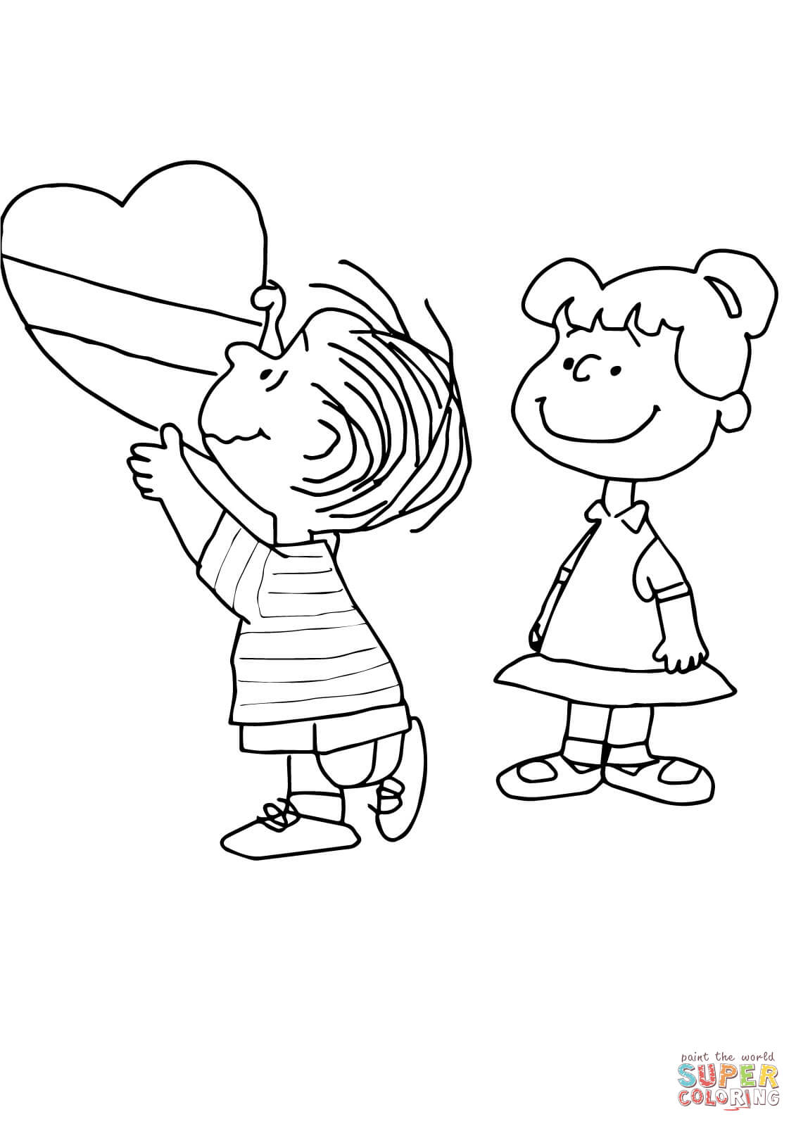 Free Snoopy Valentine Coloring Pages Download Free Clip