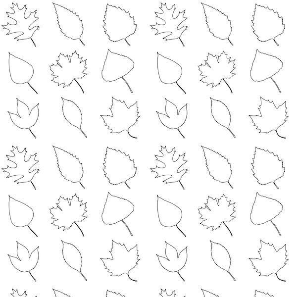 Free Traceable Leaf Patterns, Download Free Clip Art, Free