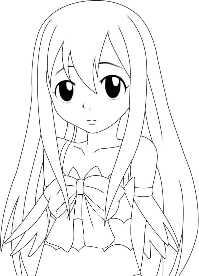 Dessin De Fairy Tail : dessin, fairy, Fairy, Coloring, Pages,, Download, Clipart, Library