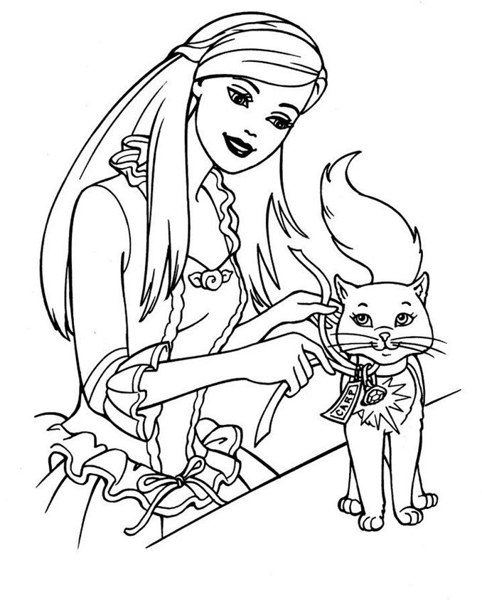 Free Barbie Coloring Pages To Print For Free Download Free Clip Art Free Clip Art On Clipart Library