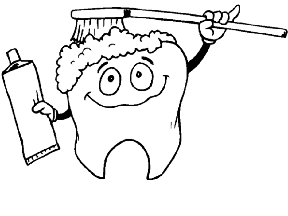 Brush Your Teeth Drawing Clip Art Library