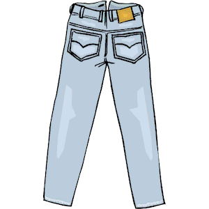 free jeans cliparts download