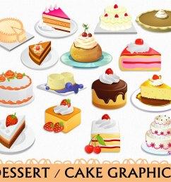 popular items for dessert clip art [ 1200 x 900 Pixel ]