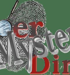 murder mystery clip art [ 1952 x 846 Pixel ]