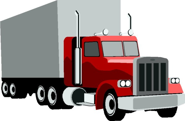 free truck cliparts