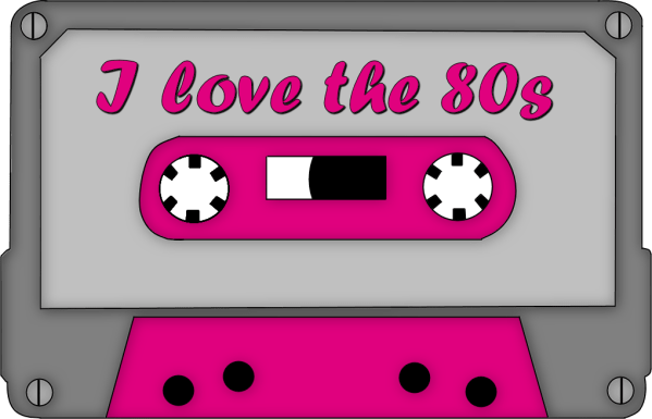 free 80s cliparts