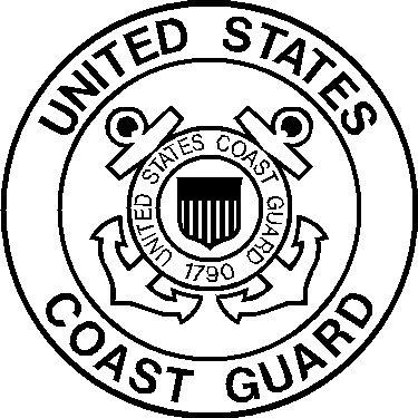 Uscg Emblem Black And White Pictures to Pin on Pinterest