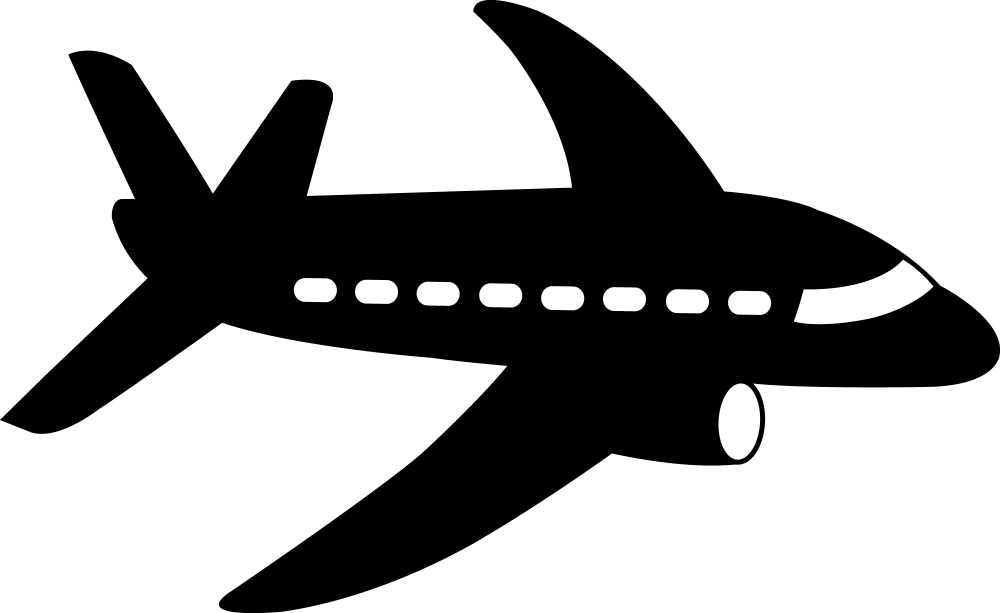 medium resolution of airplane cliparts clipart image