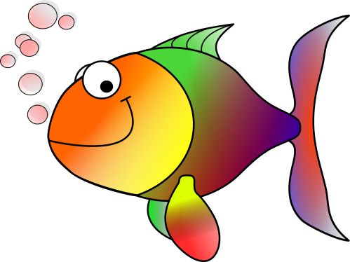 small resolution of fish clip art free clipart image