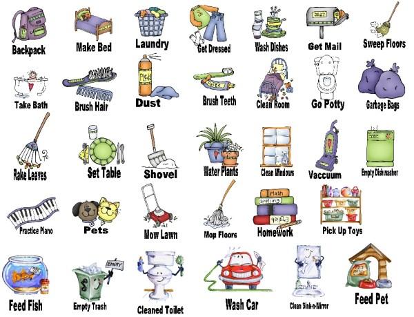 free chores cliparts