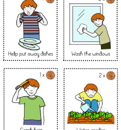 household chores pictures [ 800 x 1035 Pixel ]