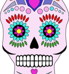 day of the dead clip art free [ 868 x 1199 Pixel ]