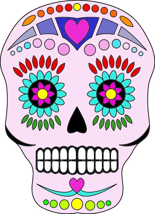 small resolution of day of the dead clip art free