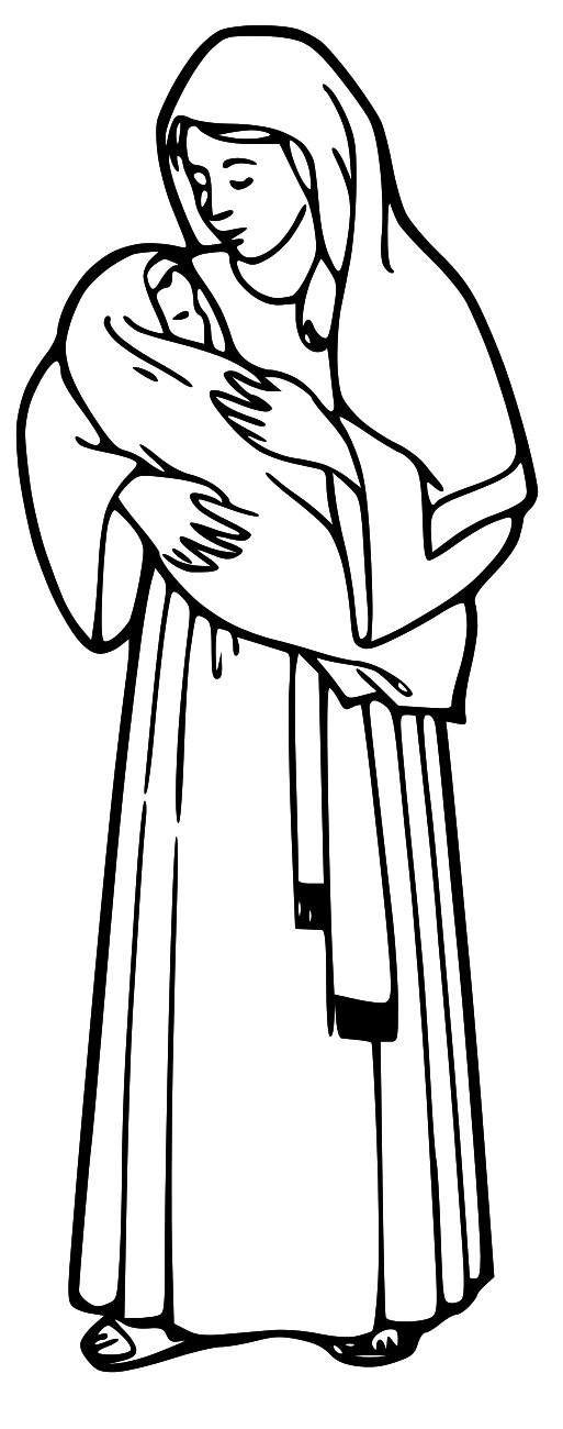 Free Mary Cliparts, Download Free Clip Art, Free Clip Art