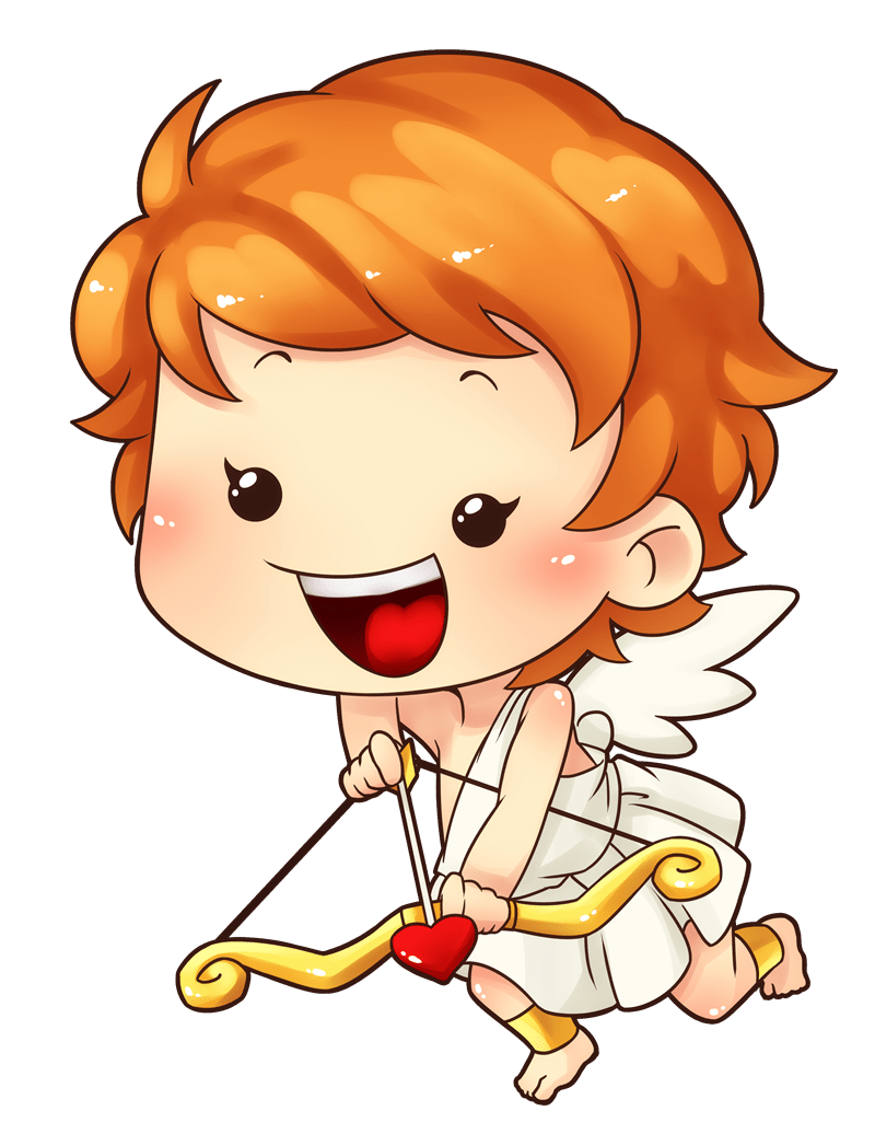 hight resolution of free cupid clipart