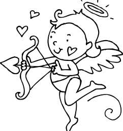 image of cupid clipart black and white cupid clip art cupid [ 4308 x 4708 Pixel ]