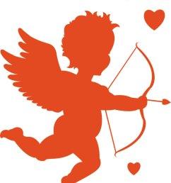 cupid clipart free [ 1200 x 1458 Pixel ]