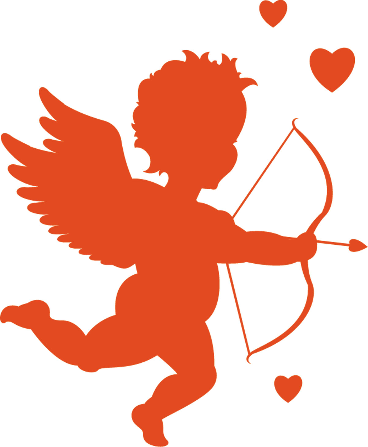 hight resolution of cupid clipart free