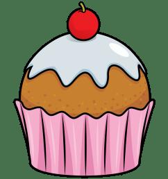 free to use public domain cupcake clip art [ 1000 x 1172 Pixel ]
