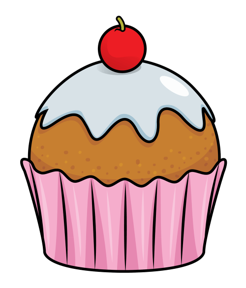 small resolution of free to use public domain cupcake clip art