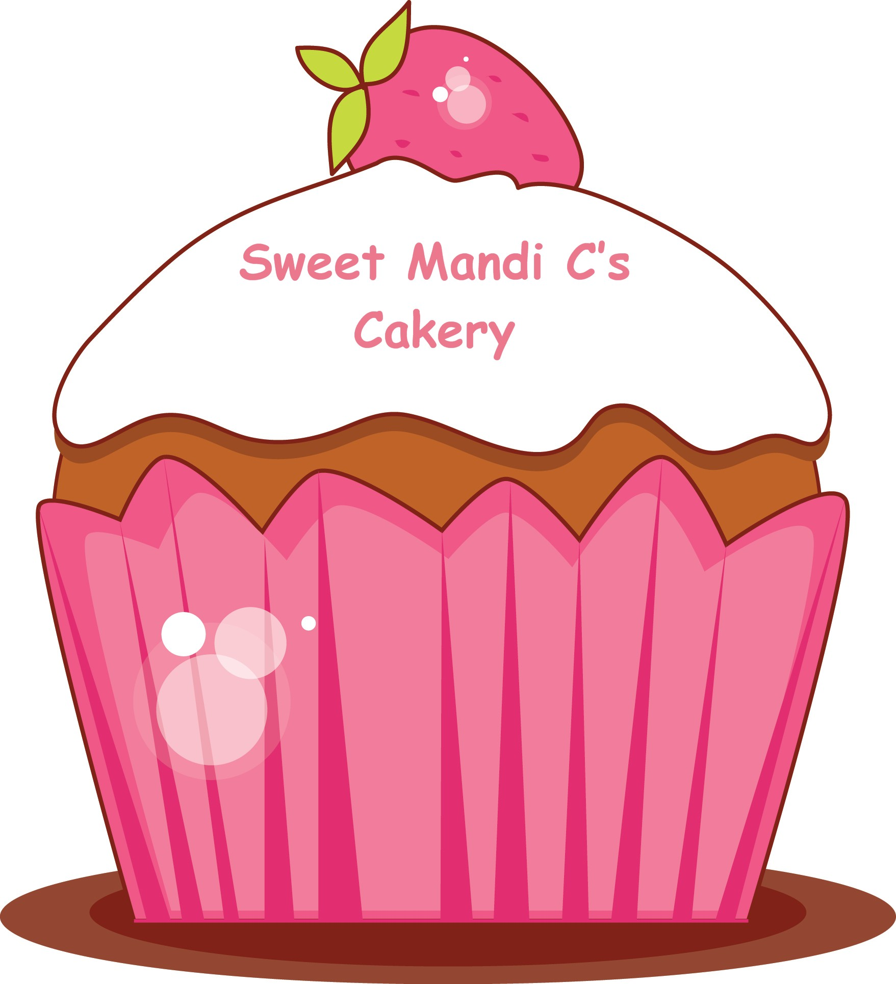 hight resolution of birthday cupcake clip art
