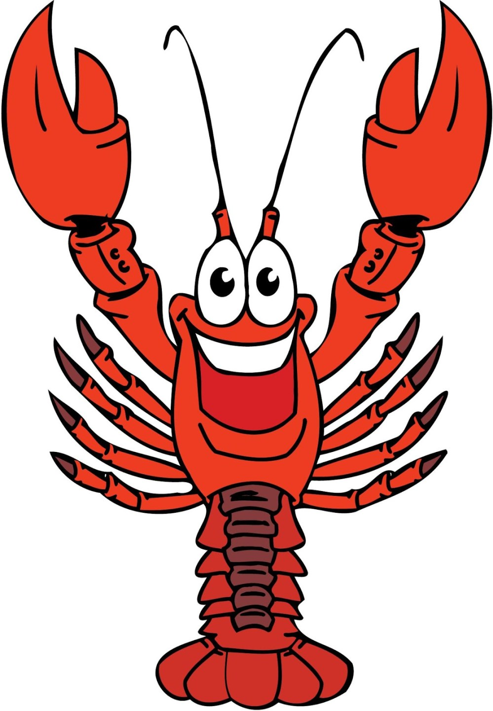 medium resolution of crawfish clip art free