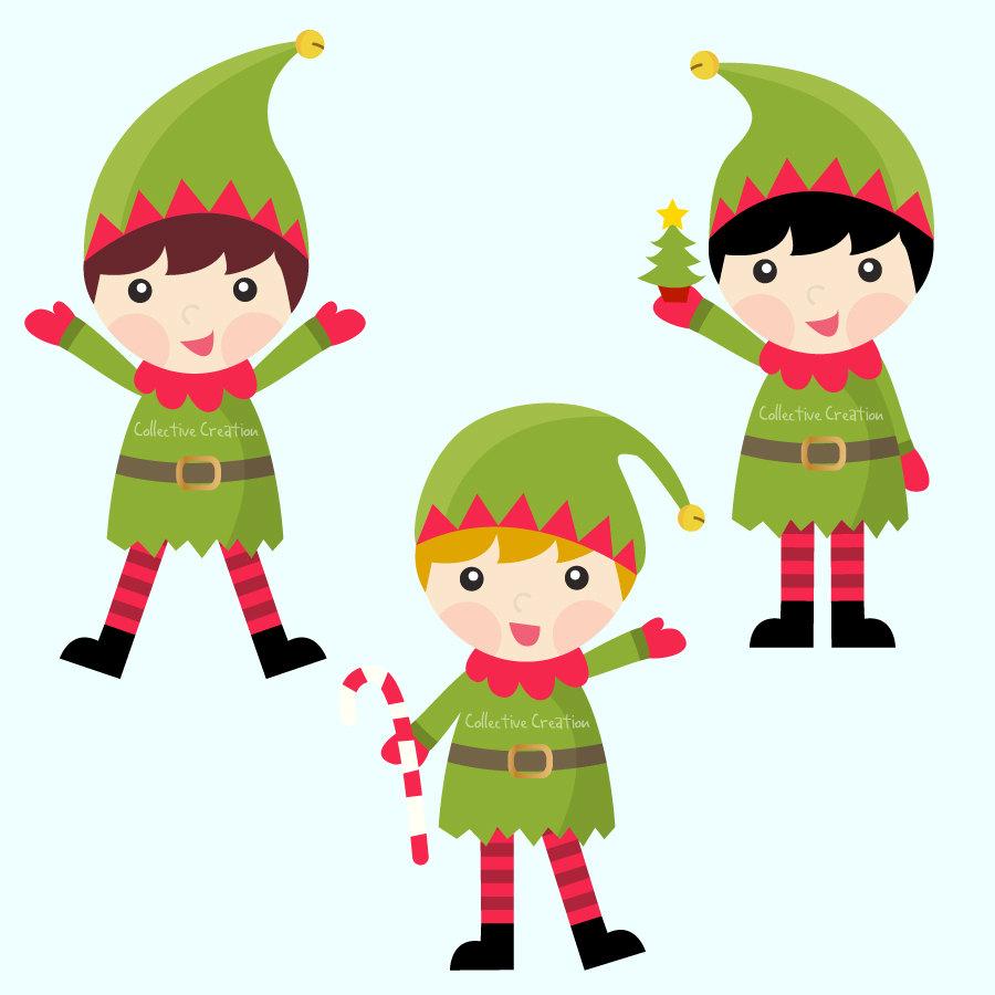 medium resolution of elves cliparts