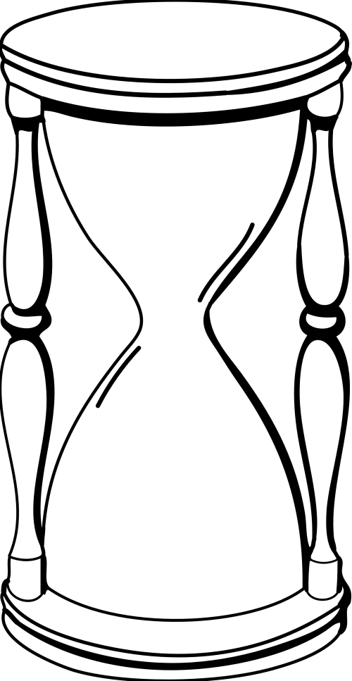 small resolution of hourglass clip art