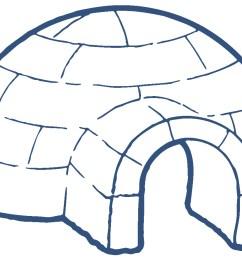 igloo clip art black and white [ 1215 x 884 Pixel ]