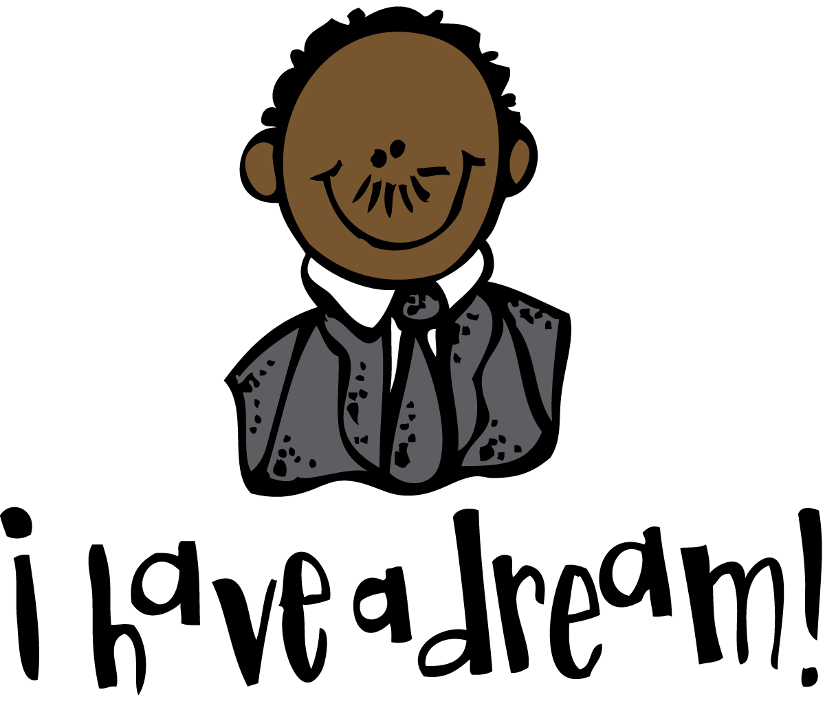 hight resolution of free martin luther king clipart
