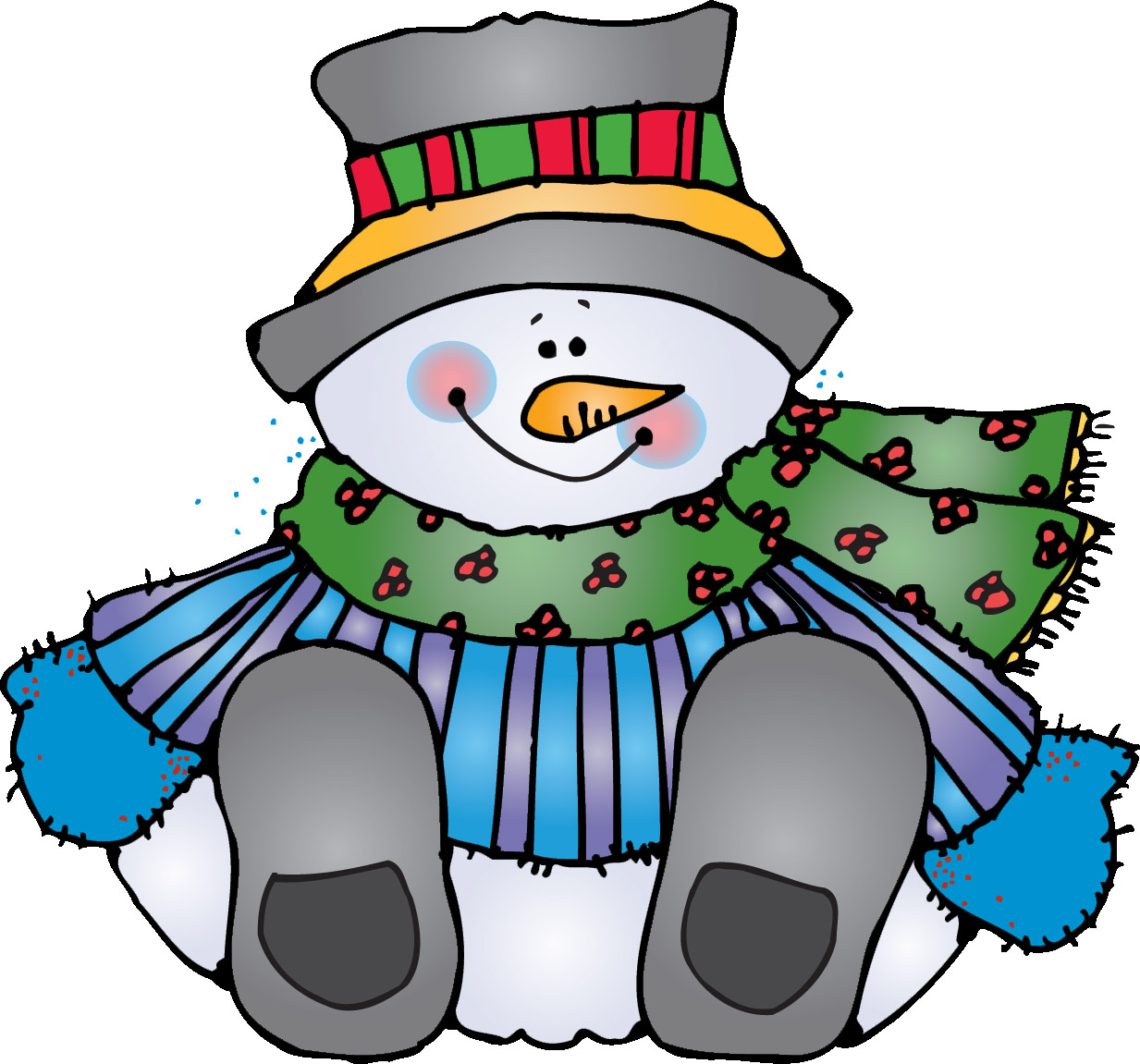 hight resolution of dj inkers winter clipart