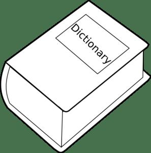 Dictionary Clip Art